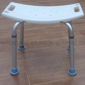 Medical Equipment Anti-Bacterial Plastic Nylon Wood Shower Seat