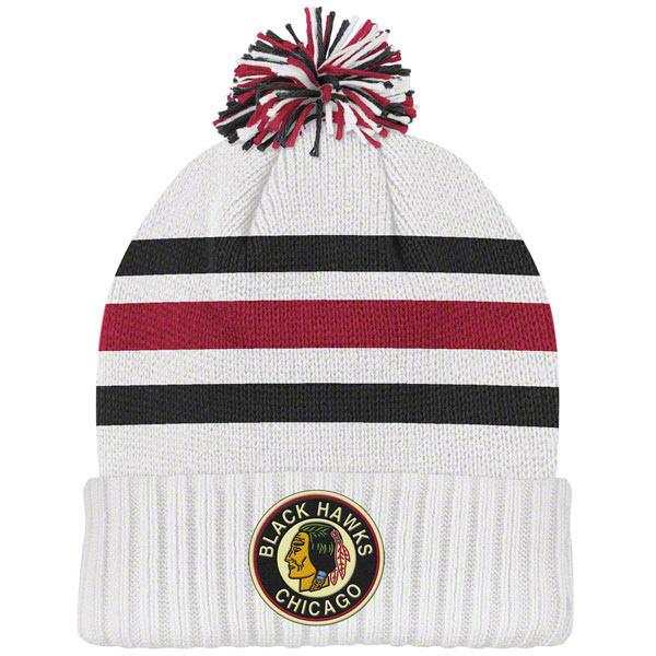Ball Top Knitted Hat White Custom POM POM Beanie Hat