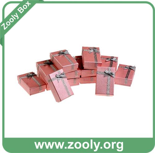Paper Jewelry Gift Box/Cardboard Paper Necklace Bracelet Box / Watch Box