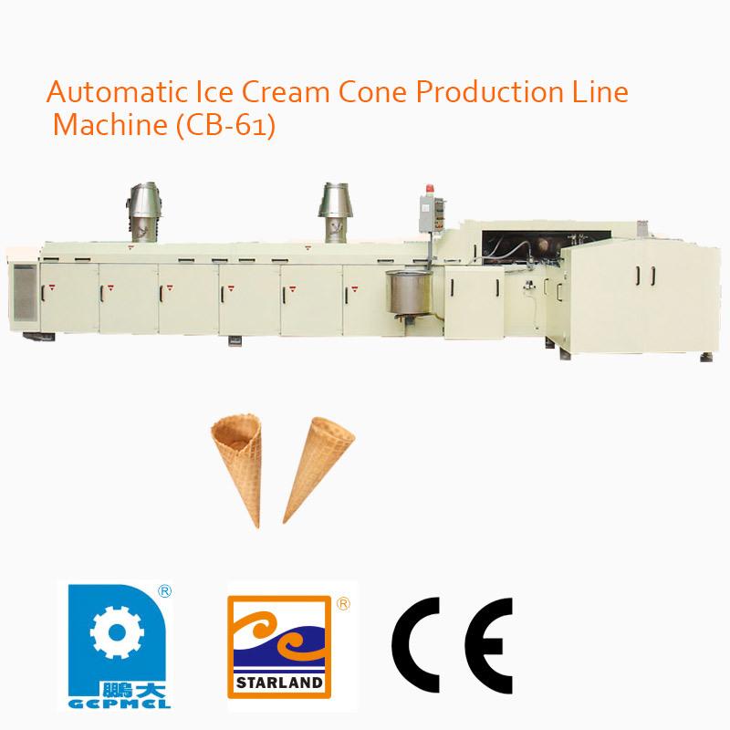 Automatic Ice Cream Cone Production Line Machine (CB-61)