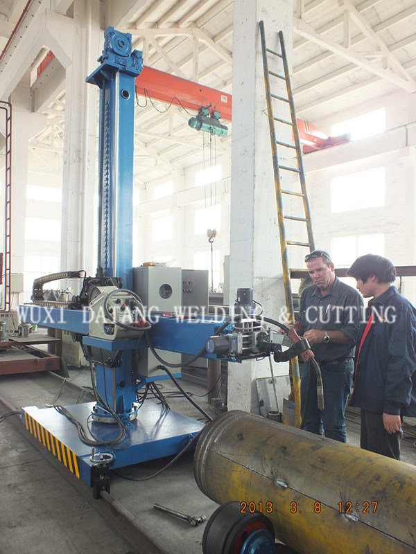 Dlh Welding Column and Boom