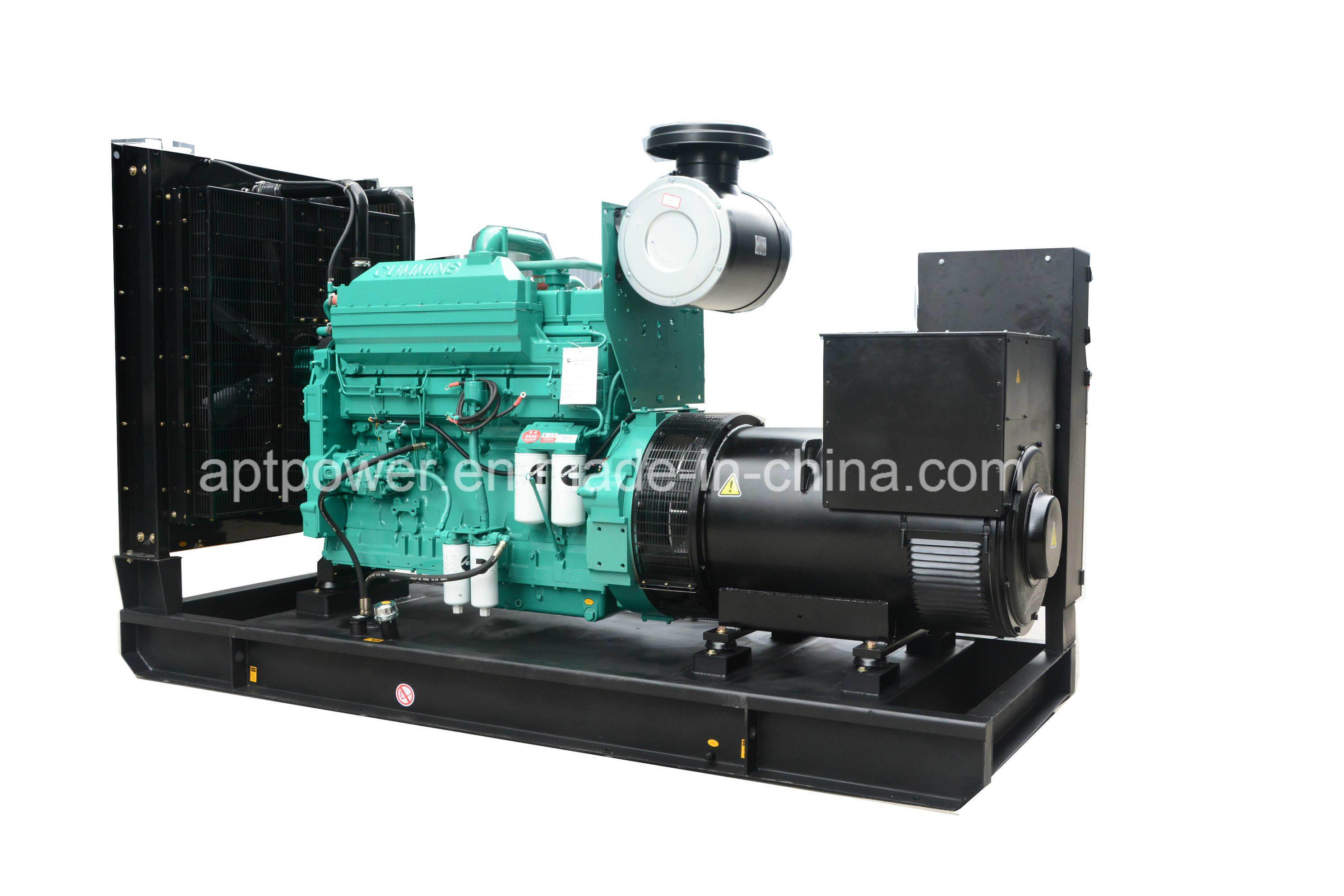 China 6 Cylinder Inline Fawde 200kw Diesel Powered Generator