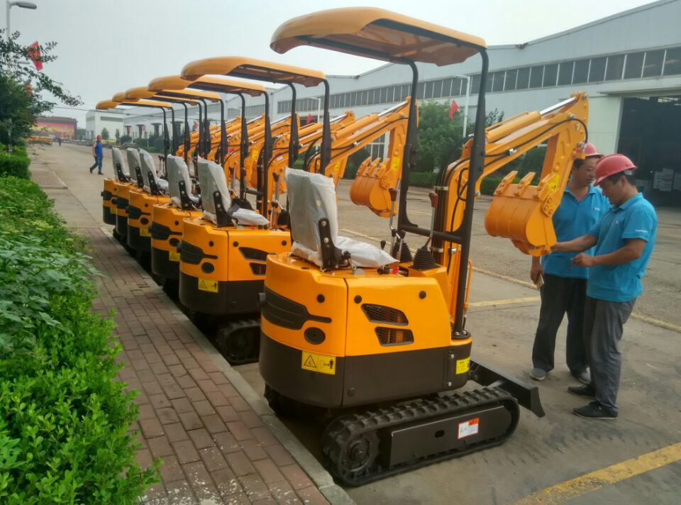 China New Excavator Mini Excavator 0.8 Ton Crawler Excavator for Sale