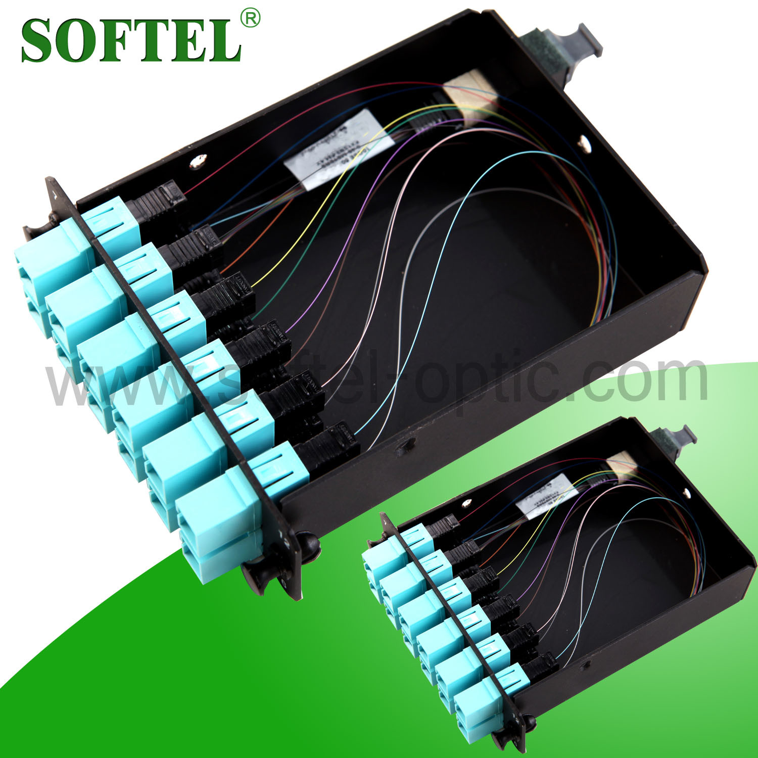 Fiber Optical Om3 MPO Cassette