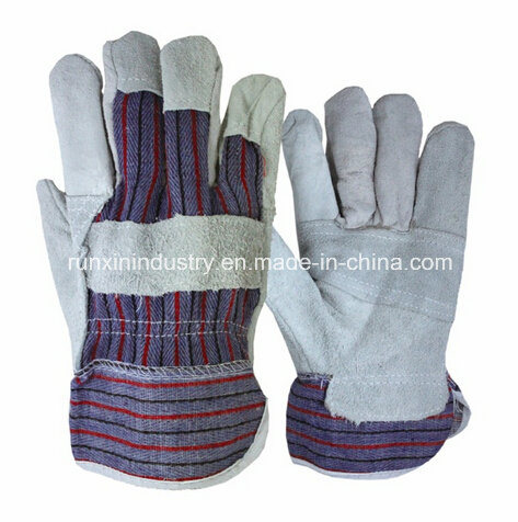 Patched Palm Cow Leather Working Gloves