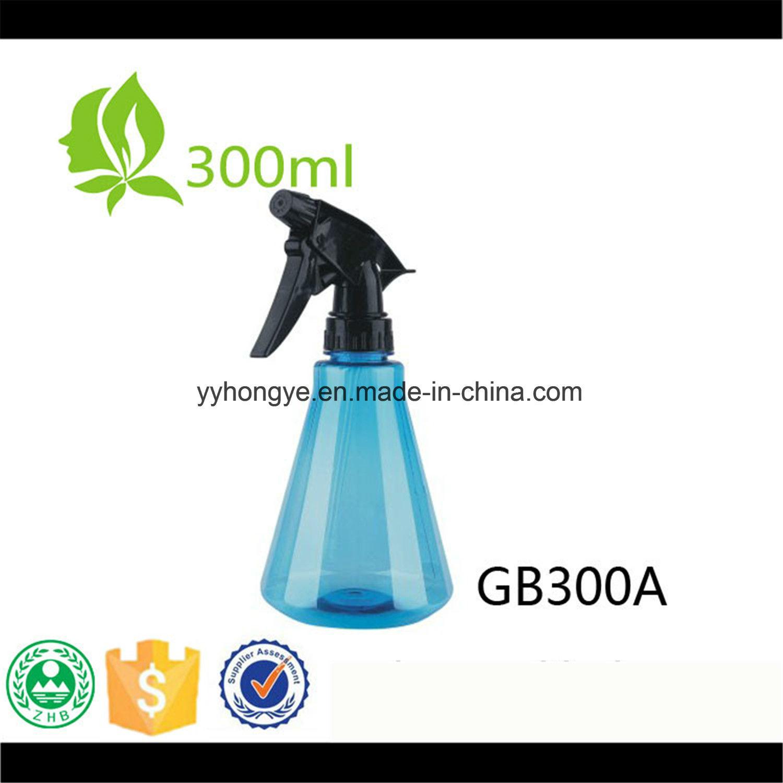 300ml Clear Plastic Trigger Sprayer Bottle for Kitchen Cleaner