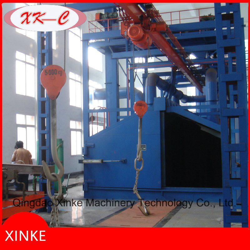 Construction Machinery Shot Blast Abrasive Equipment Q3730