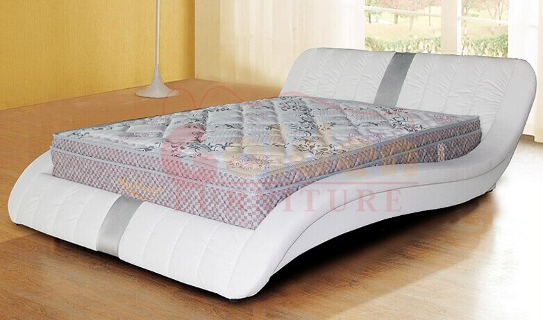 China 2014 new design furniture bed italian bedroom set for Double bed new design