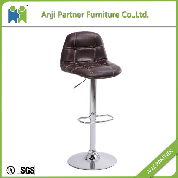 Affordable Excellence Modern Leather Swivel Bar High Chair (Soulik)