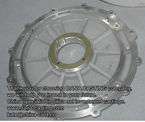 304 Stainless Steel Casting Parts Pump Body Casting by Investment Casting