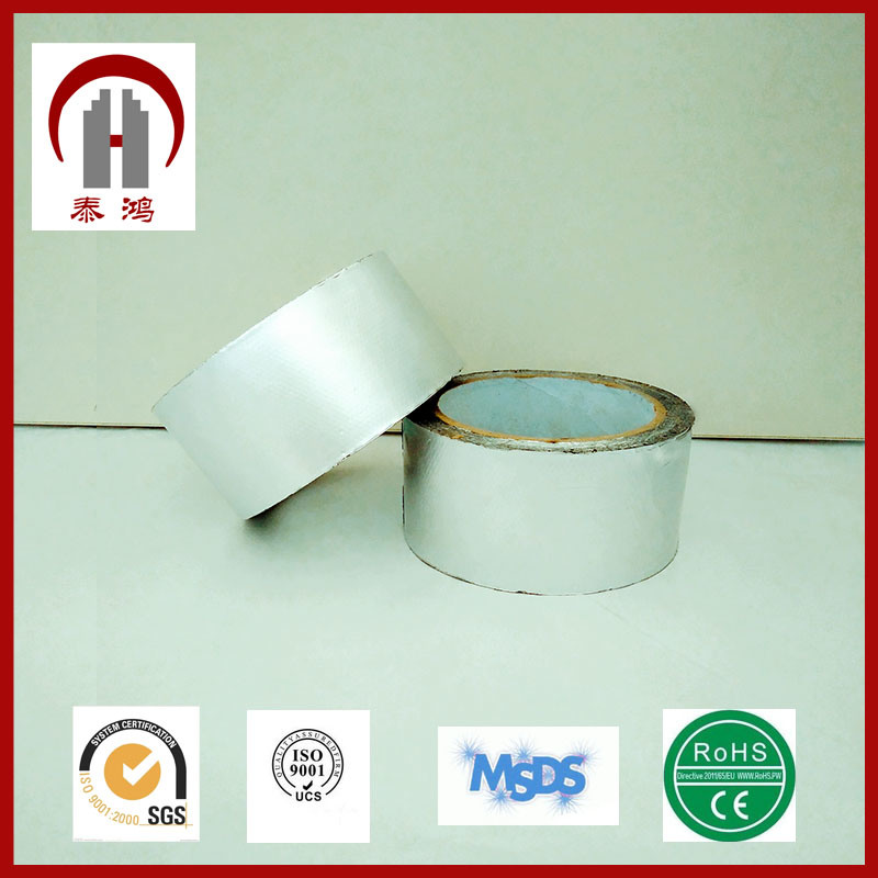 Silver Aluminum Foil Tape in Industry