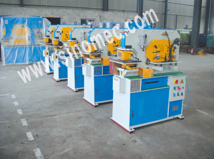 Hydraulic Multiple Functions Ironworker Punching Q35y-12