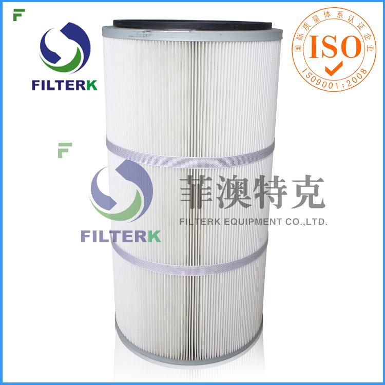 Filterk PTFE Membrane Dust Cartridge Filter for Welding Fumes
