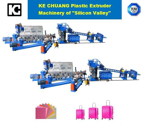 Professional Plastic Exdruder machinery for PC ABS PP PE