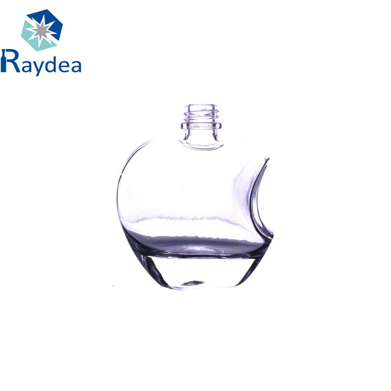 125ml Glass Bottle in Apple-Shaped with Screw Cap