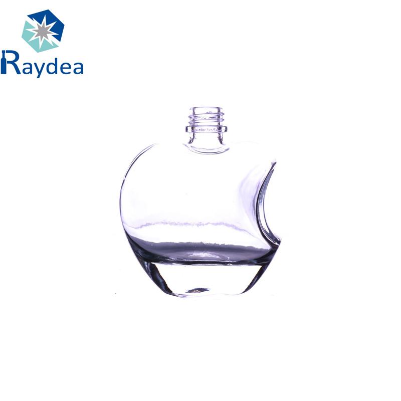 Screw Cap 125ml Apple-Shaped Glass Bottle