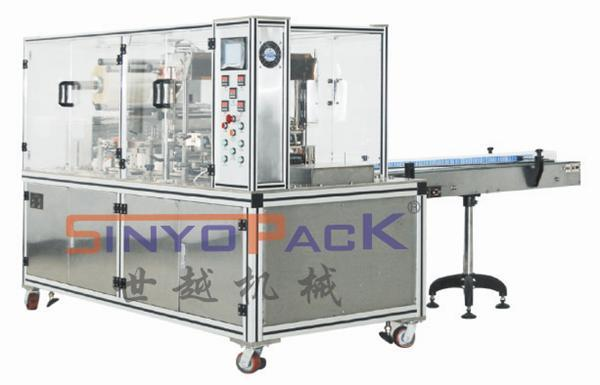 Adjustable Tri-Dimensional Cellophane Overwrapping Machine (with adhesive tear-tape)