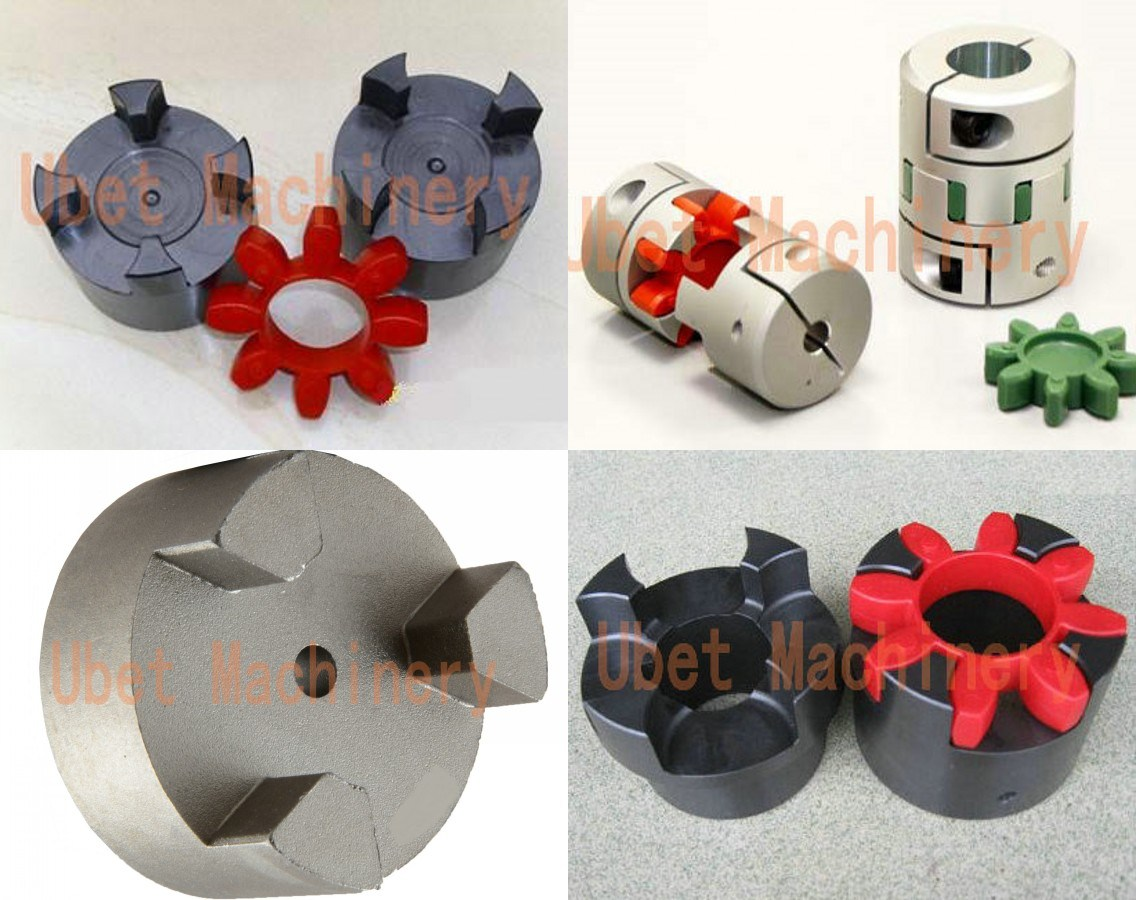 Flexible Jaw Coupling (NBR, Urethane, Hytrel Elements)