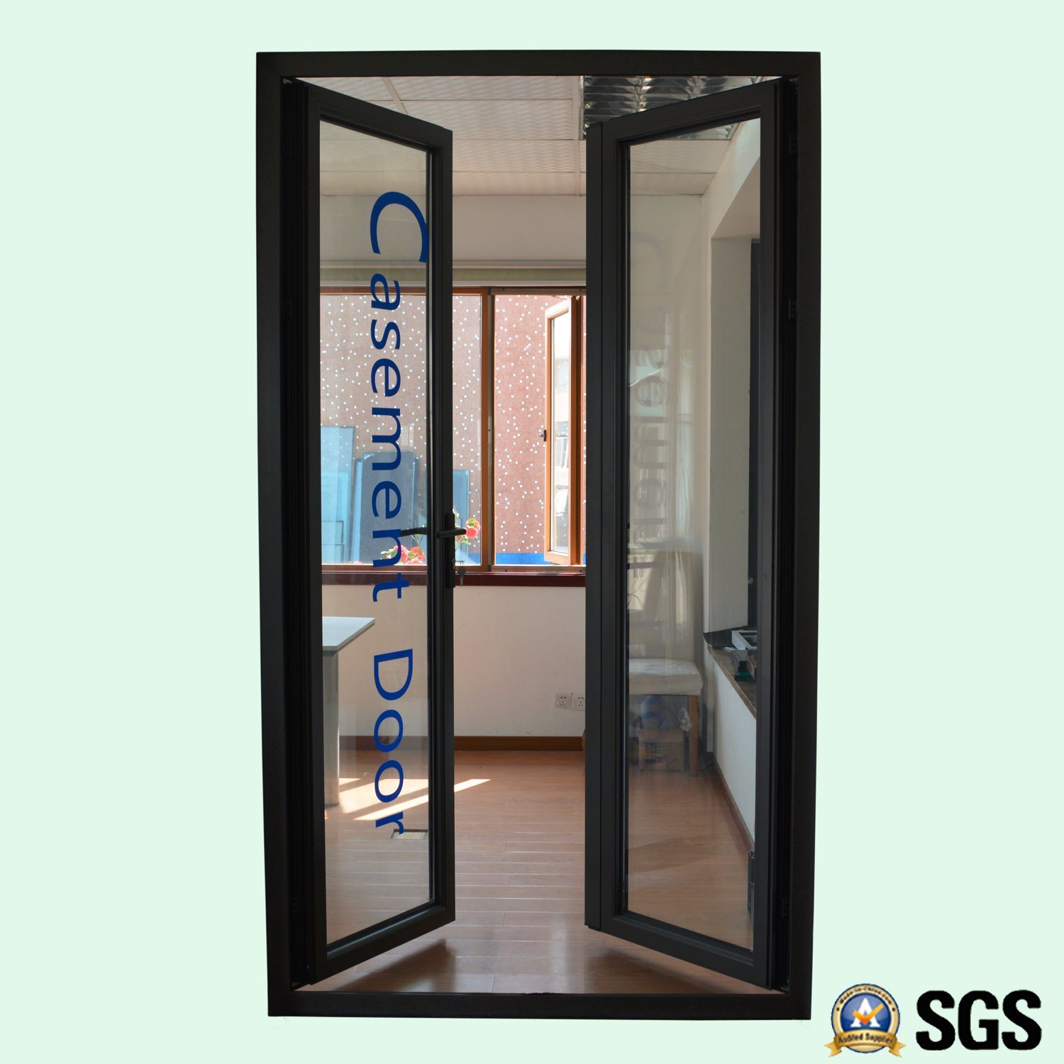 Good Quality Thermal Break Aluminum Alloy Profile Casement Door, Aluminium Door, Door K06020