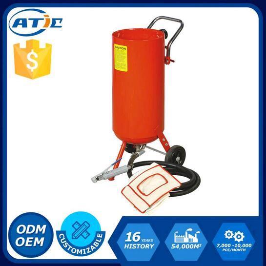 10 Gallon Roll-About Sandblaster