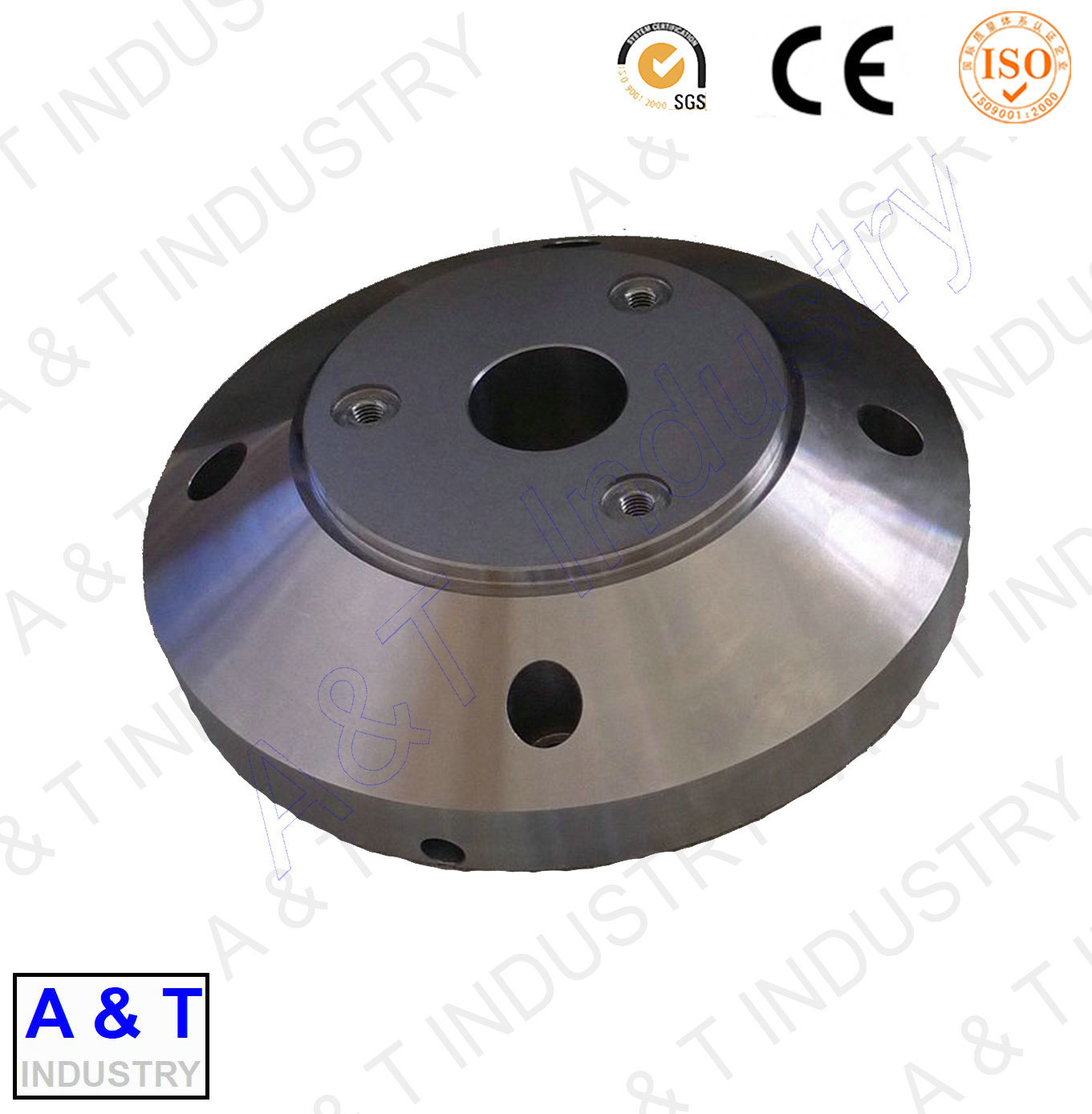 CNC Customized Aluminum CNC Turning Machine Parts