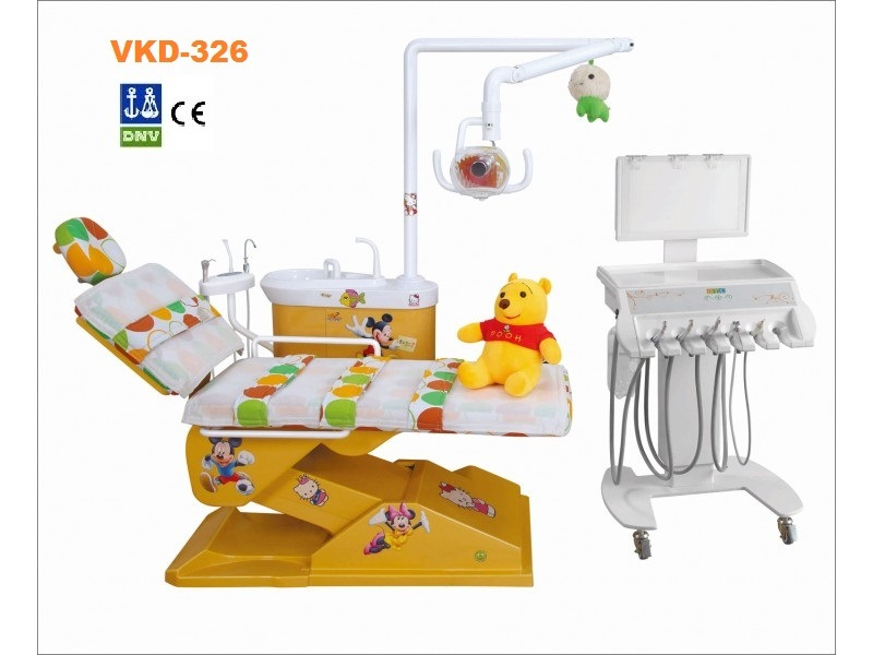 Computer Controlled Integral Dental Chair for Kids with CE