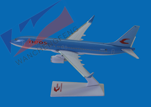 Plastic Plane Model (B737-800)