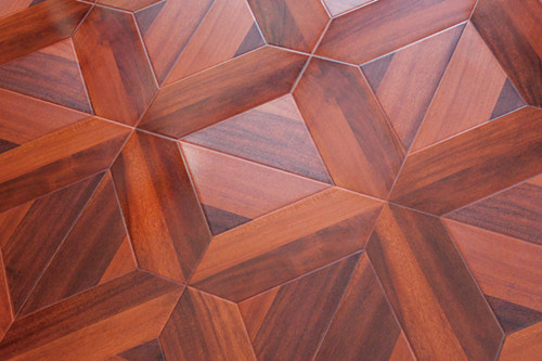 Laminated Parquet Wood Flooring