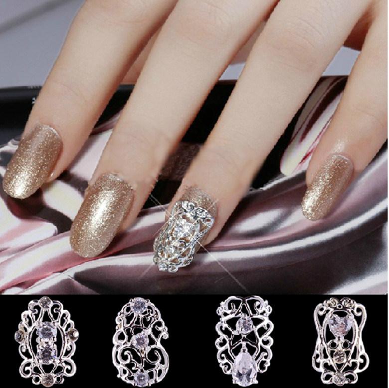 2016 Fashionable 3D Alloy Sticker Nail Art Metal Decoration Nail Alloy  Accessories Art Nail - China 2016 Fashionable 3D Alloy Sticker Nail Art Metal Decoration