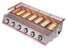 Luxury Six-Burner Environmental Roaster (Gas) ET-K23