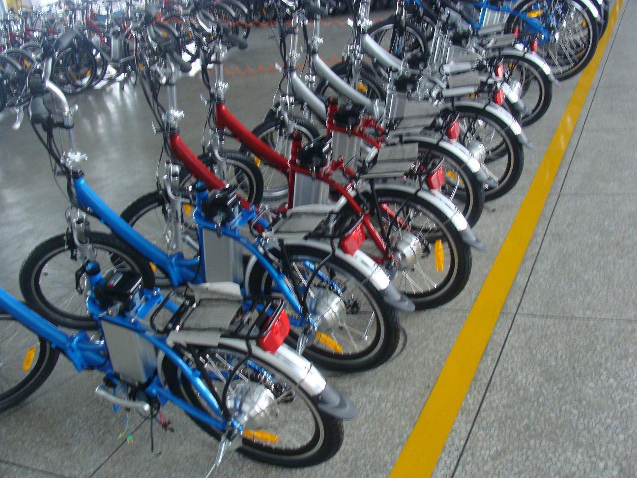 36V/48V En15194 Mini Folding Pocket Electric Bike (TDN02Z)