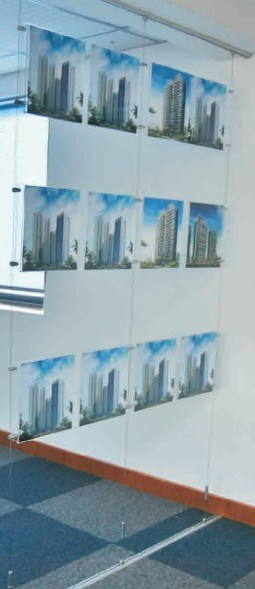 Aluminum Cable Display for Shop Fitting