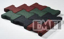 Colorful Rubber Flooring Tile Carpet Rubber Tile
