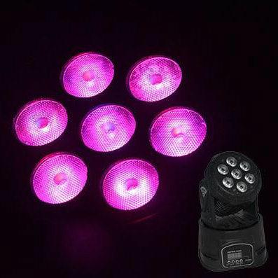 Hot Sale 7PCS*10W RGBW Mini LED Moving Head Light