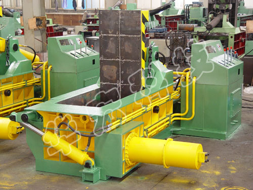 Hydraulic Scrap Metal Baler Machine
