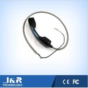 Anti-Vandal Phone Handset, Durable ABS Plastic Phone Handset, Armored Cord Phone Handset