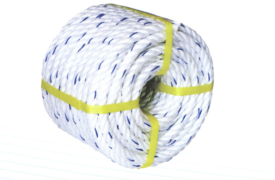 P. P. Monofilament Rope with Colourful Tracer