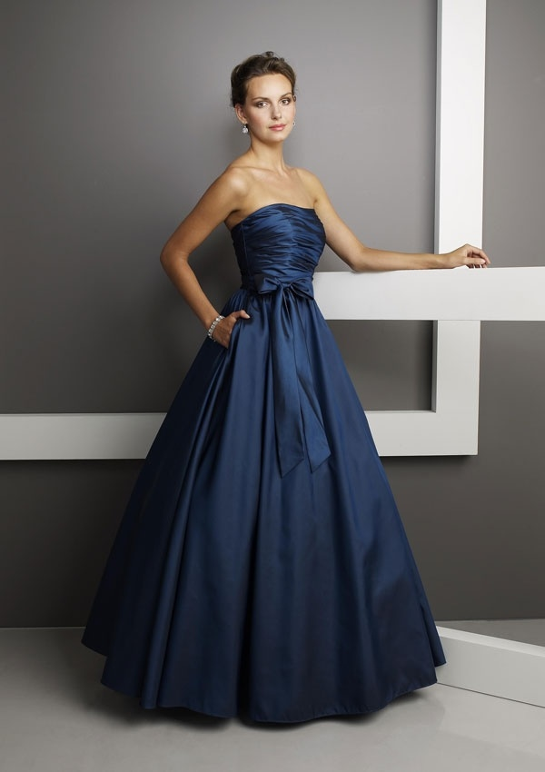 Royal Blue Ball Prom Gown Ballprom025