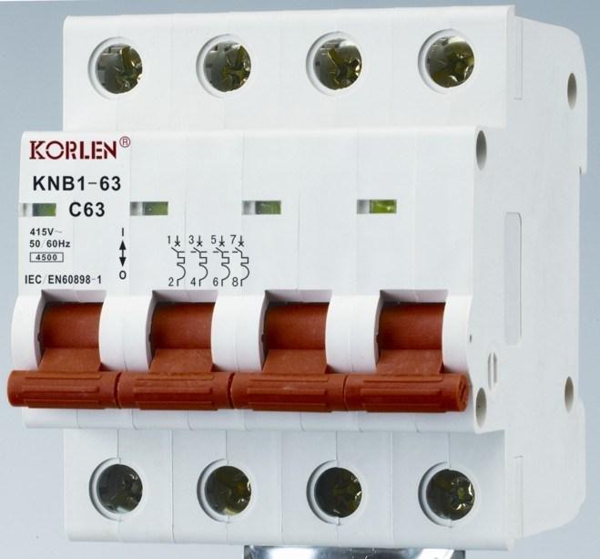 Supply High Quality Mini Circuit Breakers Knb1-63-2000