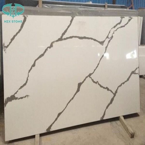 Quartz/Artificial Stone/Nano Stone/White Quartz/Quartz Slabs for Kitchen Countertop