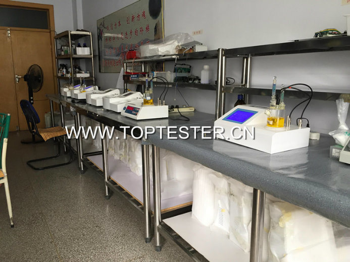 Karl Fischer Moisture Content Testing Equipment (TP-2100)
