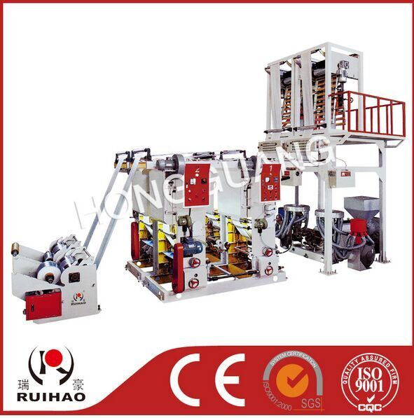 PE Film Blowing Rotofravure Printing Line Machine
