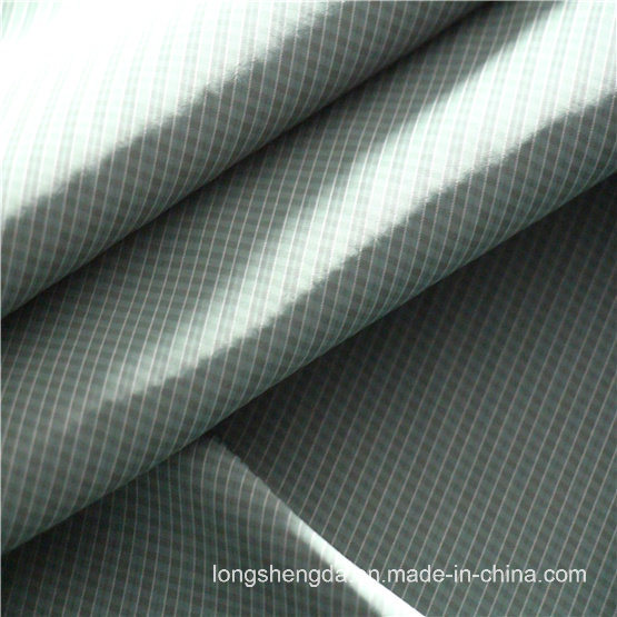 40d Woven Twill Plaid Plain Check Oxford Outdoor Jacquard 100% Polyester Fabric (X045)