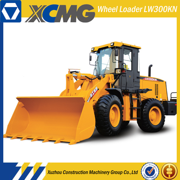 XCMG Official Manufacturer Lw300kn 3ton Mini Skip Wheel Loader Truck