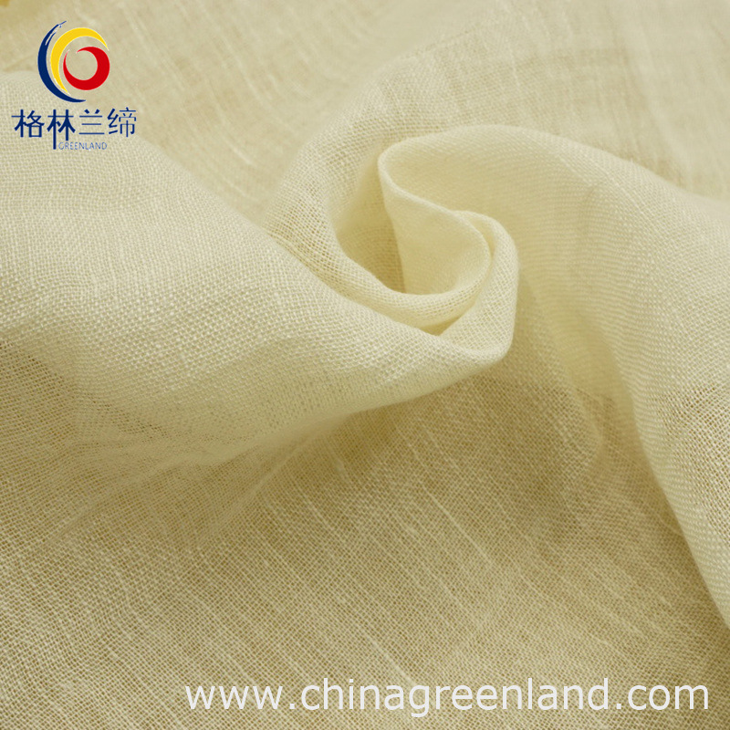 100% Linen Breathable Knitted Fabric for Garment Textile (GLLML040)