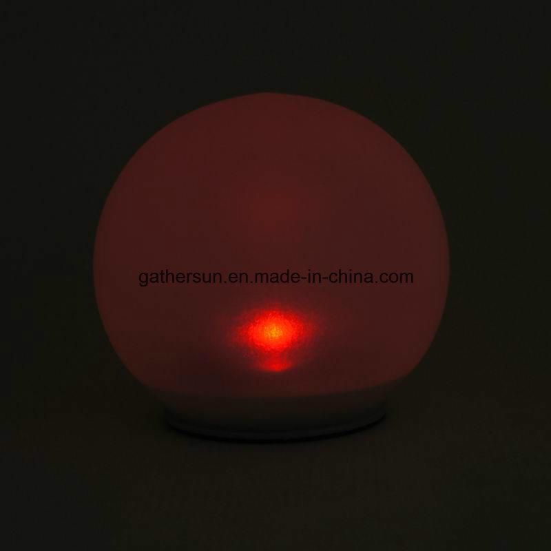 Solar Globe Lamp with Spike Lawn Garden Lighting