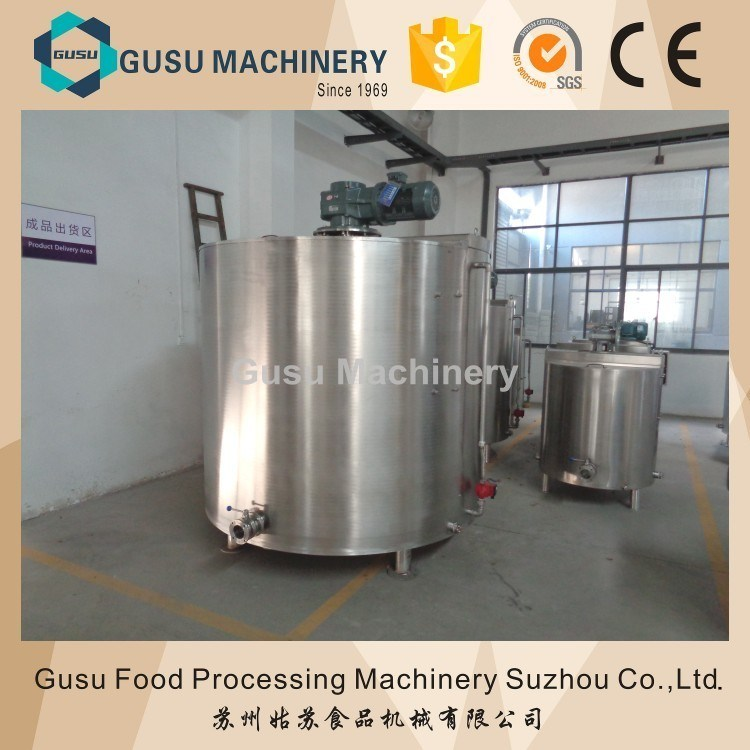 Ce Energy Saving Snack Food Machine Chocolate Storage Stirring Tank
