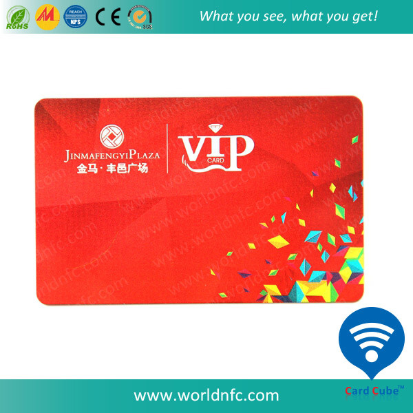 13.56MHz High Frequence DESFire 8k RFID Smart Card