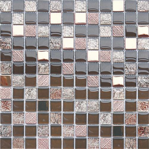 Modern 8mm Glass Crystal Mosaic for Bathroom