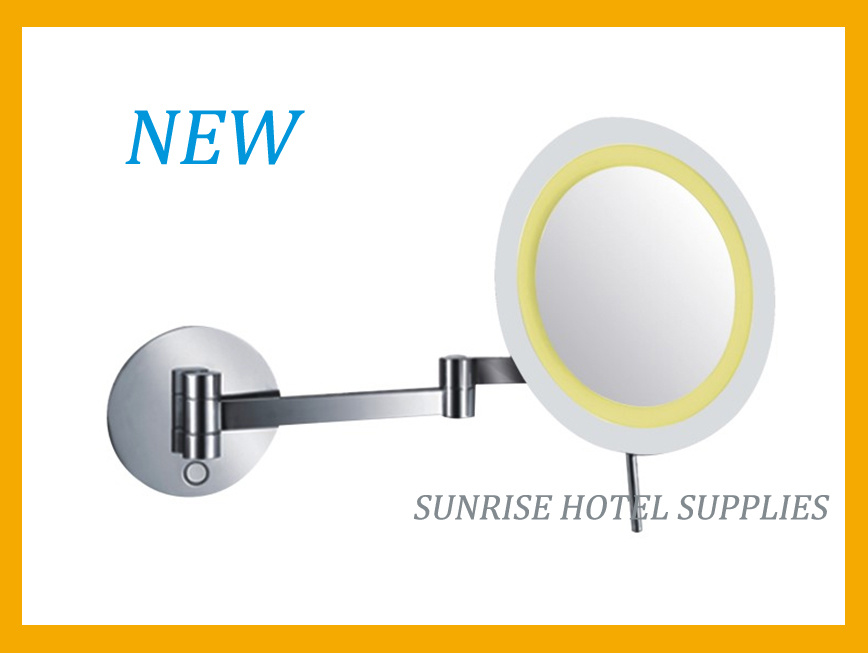 New Arrival Wall Mounted Magnifying Mirror with LED Light